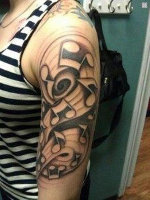 musicales en el brazo 6