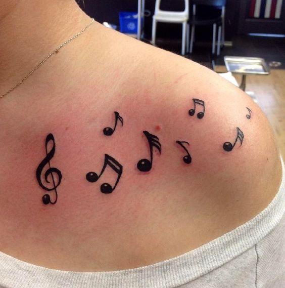 notas musicales para mujeres 1