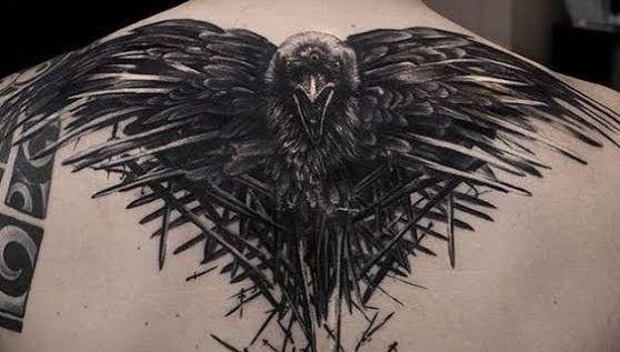 tatuajes de aguila en la espalda 3
