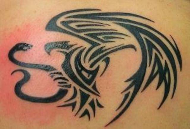 tatuajes de aguila mexicana 3