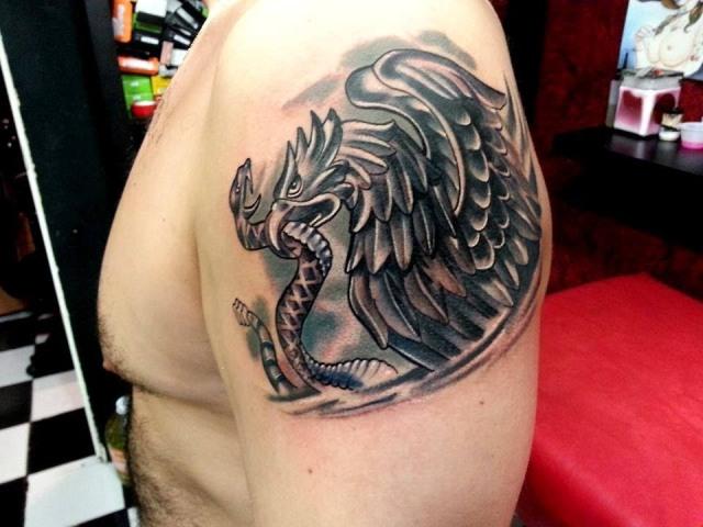 tatuajes de aguila mexicana 6
