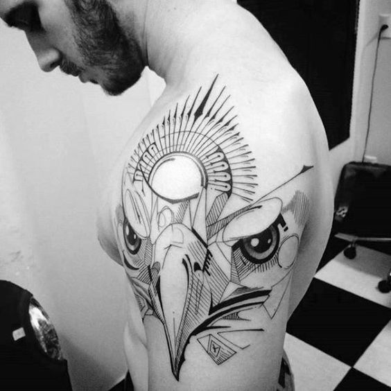 tatuajes de aguilas en el brazo 2