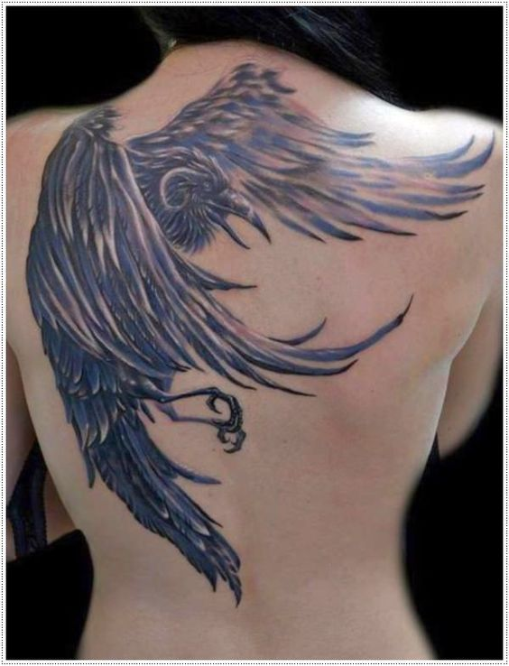 tatuajes de aguilas para mujeres 3