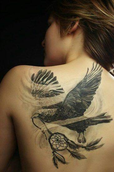 tatuajes de aguilas para mujeres 6