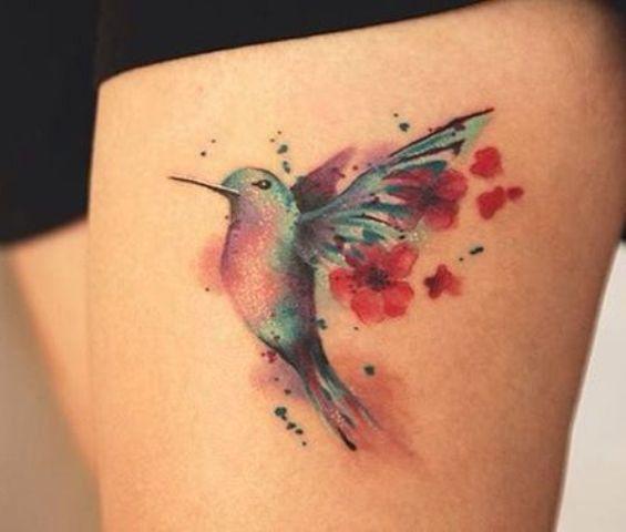 tatuajes de un colibri 2 - tatuajes de colibrí