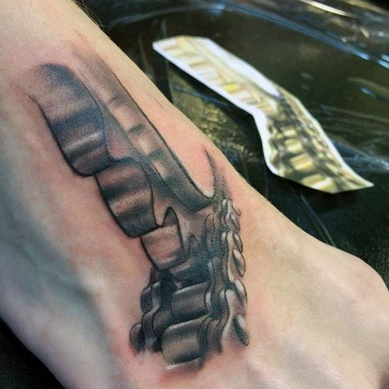 tatuajes motos tobillos 4