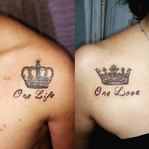 tatuajes para parejas en la clavicula 2