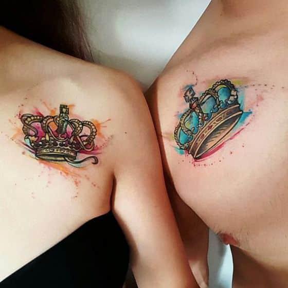 tatuajes para parejas en la clavicula 4