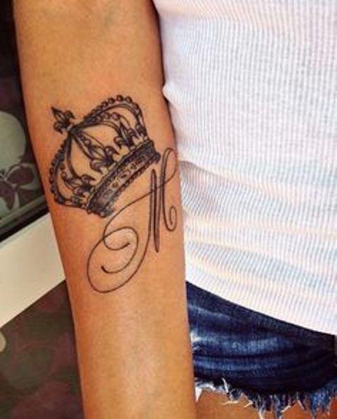 con iniciales 1 - tatuajes de iniciales
