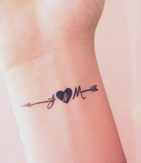 con iniciales 4 - tatuajes de iniciales