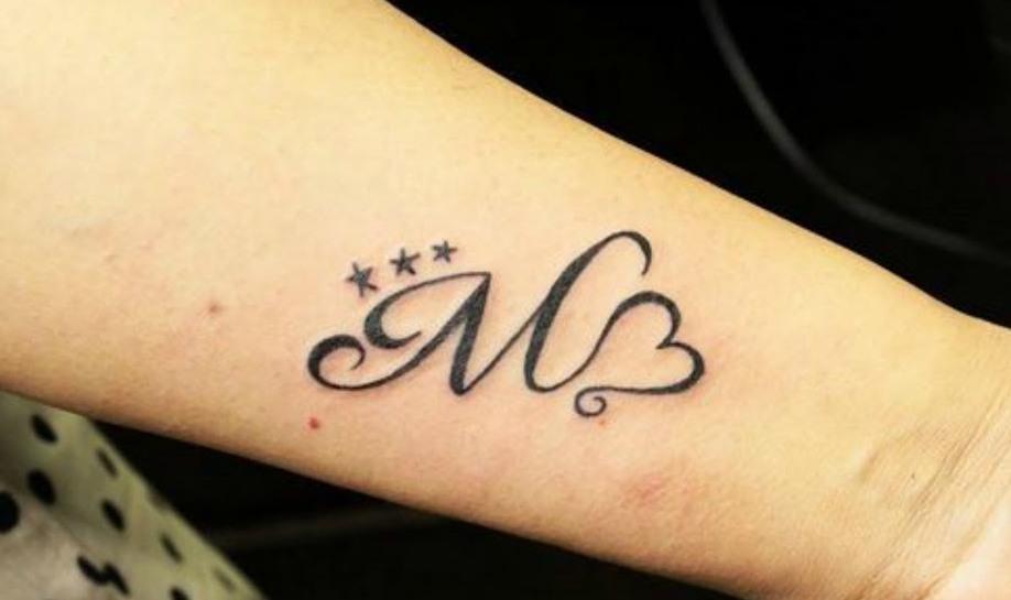 iniciales - tatuajes de iniciales