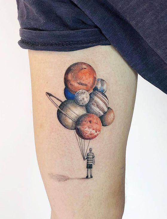 tatuajes de planetas 4 1