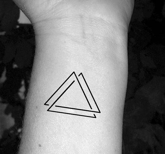 tatuajes de triangulos 3