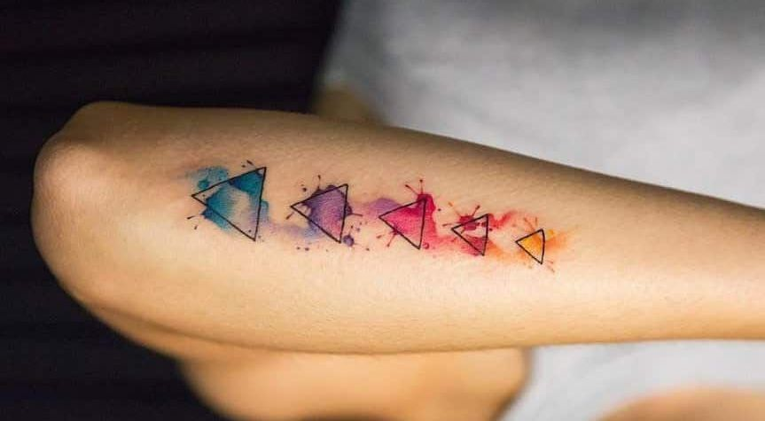 tatuajes de triangulos 4
