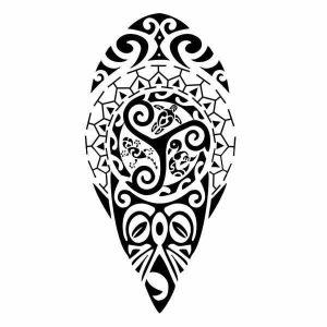 tatuaje maorie las flechas - tatuajes maories