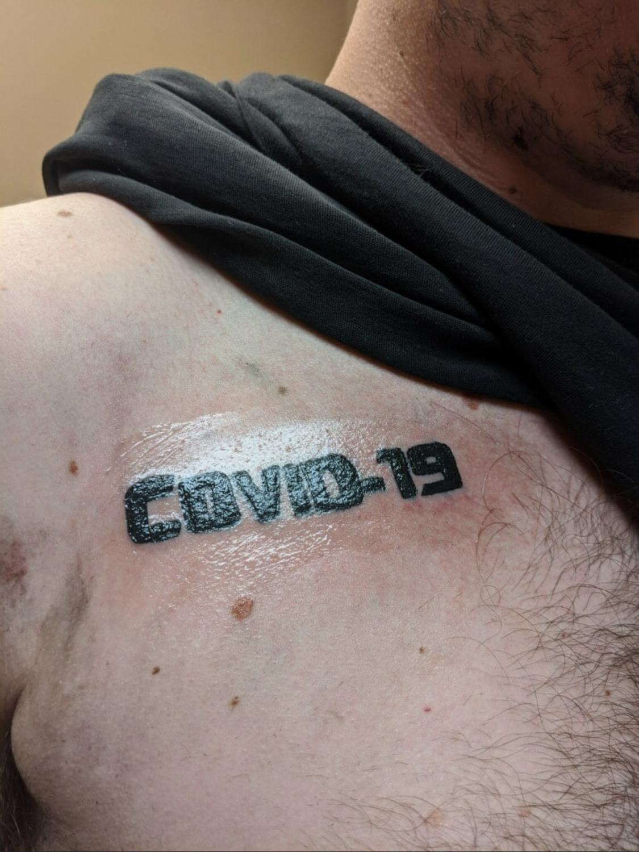tattoo covid 19 coronavirus 1 -