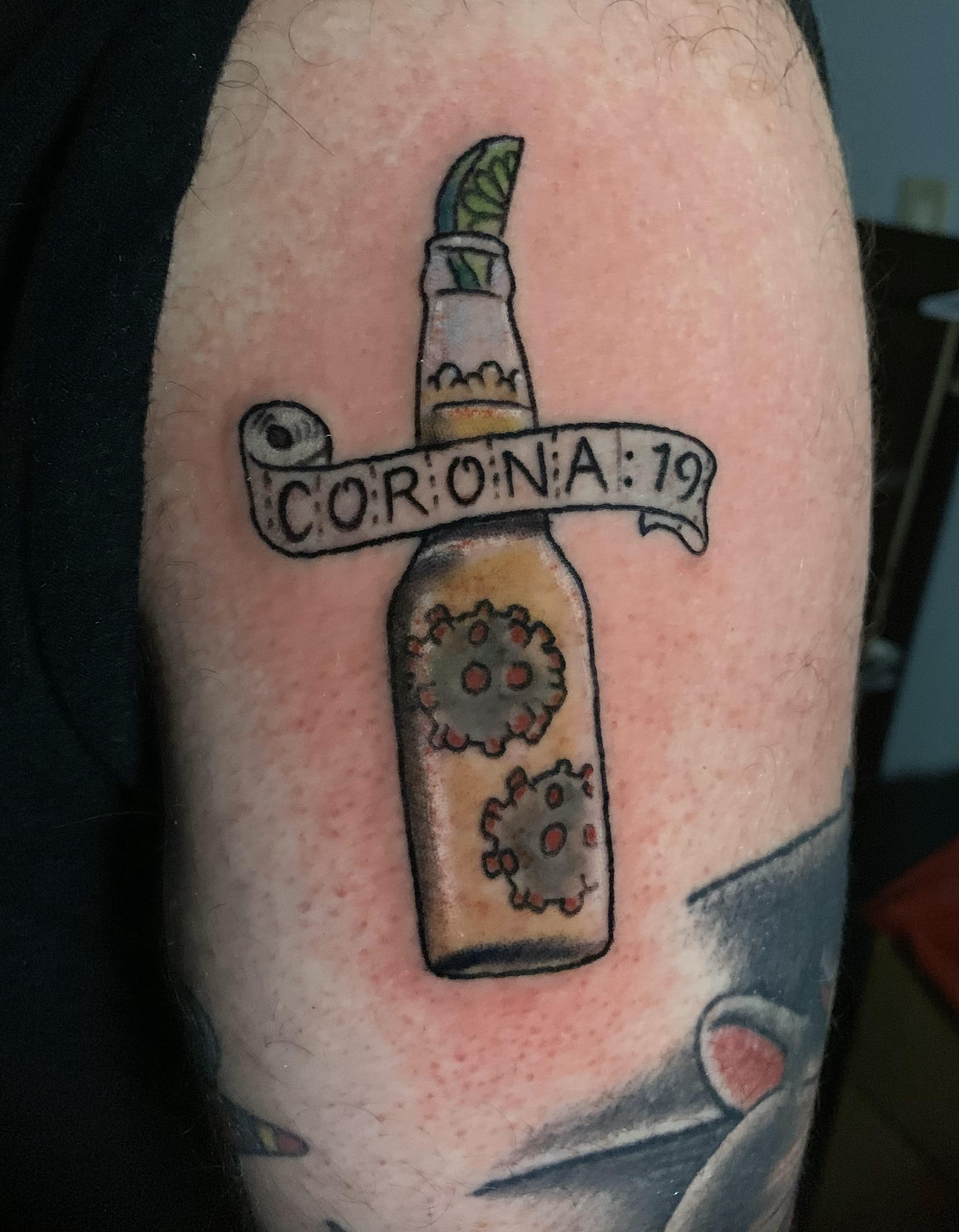 tattoo covid 19 coronavirus 3 -